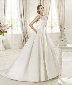 Printemps Zip Naturel Robes de mariée 2014