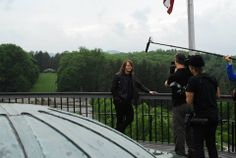 Caleb Johnson from @American Idol on the roof of #Biltmore House in #Asheville, #NC during his return visit on May 10, 2014.