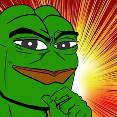 A manly pepe. He will surely sweep all the ladies of their feet (or hooves-Pepe does not discriminate ;))
