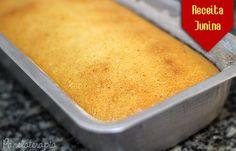 Bolo de Amendoim ~ PANELATERAPIA - Blog de Culinária, Gastronomia e Receitas
