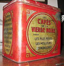 """Collection de boite en fer  """"Boites a café, a tabac, Pub Café, Tabac"""""""