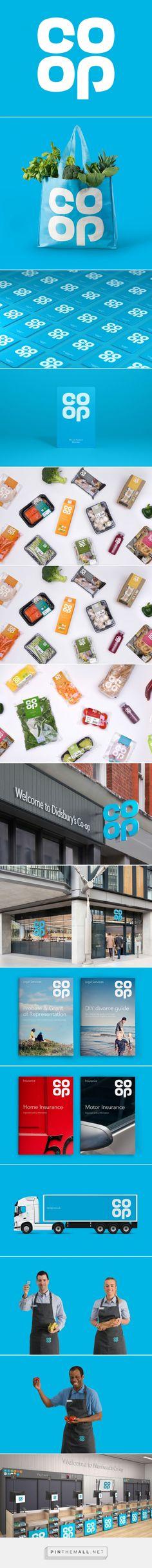El marca británica CO-OP recupera su antiguo logo de 1968 | Brandemia_... - a grouped images picture - Pin Them All
