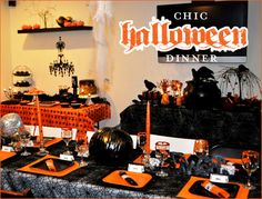 REAL PARTIES: Chic Halloween Dinner