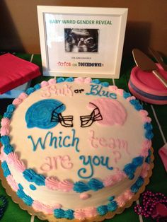 Gender Reveal Cake: http://www.justdessertscafe.net