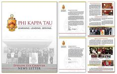 Mission: The mission of Phi Kappa Tau is to champion a lifelong commitment to brotherhood, learning, ethical leadership and exemplary character.