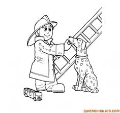 Dog Coloring Sheets Dalmatian Fire Dog Coloring Pages Dog
