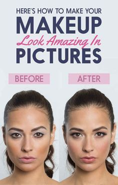 Here's How To Do Your Makeup So It Looks Incredible In Pictures | Visit SkyMall.com for beauty essentials and more!