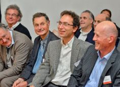 Eric Simon (au centre)