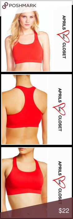 ⭐⭐ WALCOAL Bralette Sports Bra RETAIL PRICE: $38 💟 NEW WITH TAGS 💟 SIZING-L = 10-12, XL = 14  WALCOAL Sports Bra * Pullover & stretch-to-fit style; Non-padded cups * Incredibly soft & comfy fabric; Fully lined * Scoop neck & a racerback * Ribbed & pique ventilation details for added airflow Fabric- nylon, 8% spandex,  Color- Chinese red SEARCH WORDS# bralette ITEM# 🚫No Trades🚫 ✅ Offers Considered ✅ Bundle Discounts ✅ Walcoal Other