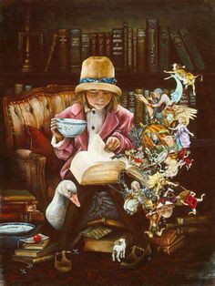 Oh, the places you go and the people you meet by reading a book!
