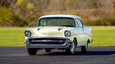 1957 Chevrolet Bel Air Hardtop 283/270 HP, 3-Speed presented as lot S116 at Kissimmee, FL