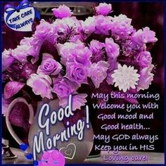 Good morning sister and all, have a nice day and a great new week,Gie bless xxx take care and keep safe ❤❤❤☕🍩🍰 Blessed Morning Quotes, Happy Good Morning Quotes, Good Morning Sister, Good Morning Tuesday, Good Morning Texts, Good Morning Funny, Morning Greetings Quotes, Morning Blessings, Good Morning Picture