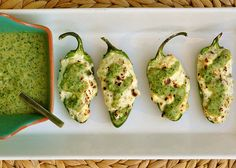 Pin for Later: Grill It Like It's Hot: 16 Appetizers to Kick Off the Fourth of July Jalapeño Poppers Stuffed with bacon, cream cheese, and jalapeño, these grilled jalapeño poppers will rile up a crowd with their rich, spicy flavors. Grilled Stuffed Jalapenos, Grilled Jalapeno Poppers, Jalapeno Popper Recipes, Stuffed Peppers, Appetizer Recipes, Snack Recipes, Appetizers, Appetizer Ideas, Healthy Recipes