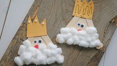 Popsicle Stick Kings - Kid Craft - Glued To My Crafts Sunday School Crafts For Kids, Bible School Crafts, Bible Crafts For Kids, Easy Crafts For Kids, Toddler Crafts, Children Crafts, Kids Bible, Popsicle Stick Crafts, Popsicle Sticks
