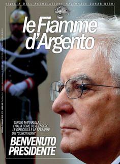 La copertina della rivista nazionale Le Fiamme d'Argento