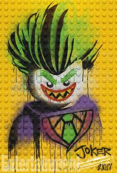 Lego Joker from #LegoBatmanMovie