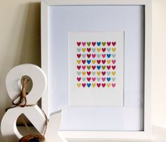 Full of Hearts Print