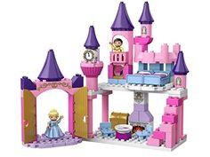 LEGO DUPLO Disney Cinderellas Castle Princess with Two Figures 6154 ** You can find more details by visiting the image link.