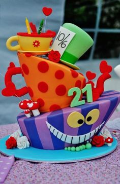 A mad cake for a mad party :)