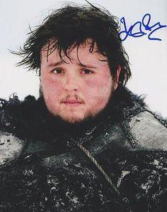 John Bradley Autographed Signed 8X10 Photo COA 'Game Of Thrones' Samwell Tarly