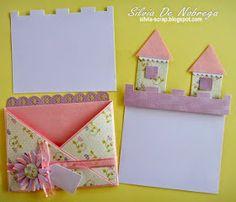 Hola... hoy les quiero mostrar la tarjeta que realicé siguiendo el tutorial # 9 de Latinas Arts and Crafts.   Comencé haciendola tal y como ... Easel Cards, Diy Cards, Big Shot, Projects To Try, Card Making, Paper Crafts, Gift Wrapping, Activities, Birthday