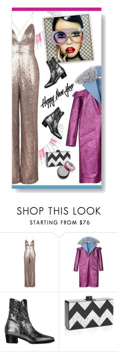 """""""New Year's Eve Glam"""" by modernmoda ❤ liked on Polyvore featuring Topshop, Rodarte, Modern Vice, Edie Parker, modern, Boots, NewYearsEve and ModernViceContest"""
