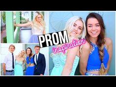Выпускной 2016: Платье, Прическа, Макияж! - YouTube
