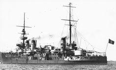 "Pre-Dreadnought French ship ""Patrie"". 1903"