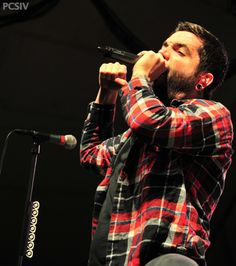 Jeremy McKinnon // Lead singer in group A Day To Remember .