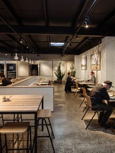 The Broadsheet Restaurant pop-up by Therefore Studio | Australian Design Review