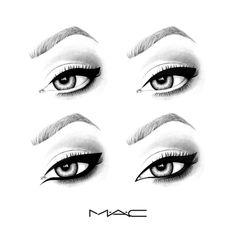 Eye liner illustration