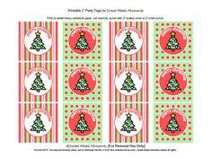 Free Printable - Merry Christmas Tags
