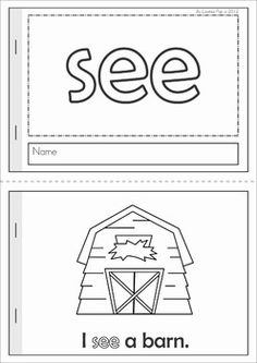 Sight Words Readers (40 Pre-Primer booklets). The text follows a predictable pattern and is supported by images, making them an ideal tool to use with emergent readers to build confidence and develop fluency!