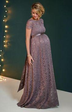 b697561718b Mettez votre silhouette en valeur tout au long de votre grossesse avec la robe  longue Penelope
