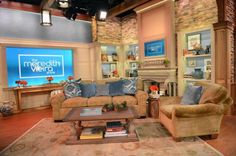 daytime talk show set - Google Search