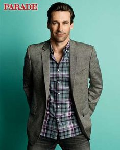 Yumm-O!    The Jon Hamm Parade August 2010 Issue Features a Revealing Editorial #suits #mensfashion trendhunter.com