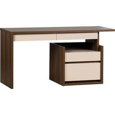 InBox Computer Desk with Drawers Study Table Designs, Office Table Design, Computer Armoire, Office Computer Desk, Modular Furniture, Office Furniture, Furniture Ideas, Open Space Office, Buy Desk