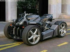 Street four wheeler