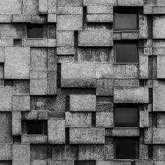 b-a-c-u: Public utilities building for telephone and postal services, Cluj-Napoca, Romania, built between 1966-69, Architect Vasile Mitrea © BACU