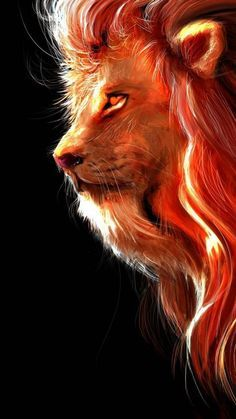 The Lion Art - iPhone Wallpapers