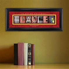 College Campus Art - Flaggler College Free Personalization – GiftsEngraved