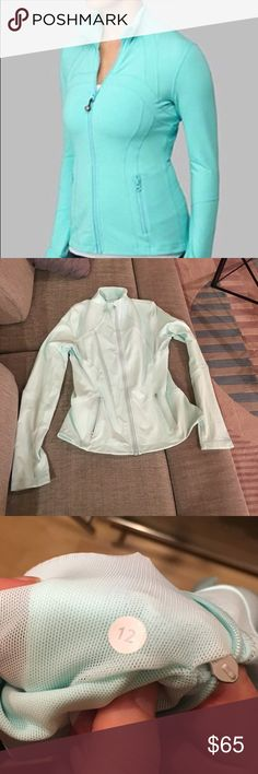LuLu Lemon baby blue fitted jacket Fitted lulu lemon athletic jacket. Ask if you have any questions. No trades, no PP. lululemon athletica Jackets & Coats