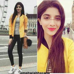 Pretty in Yellow #MawraHocane♥♥♥
