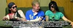 She can't even talk, kellin what are you on?