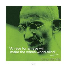 Pyramid Studios - Mahatma Ghandi (I Quote)