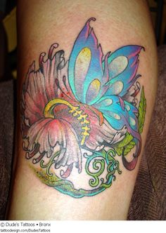 A tattoo design picture by Dude's Tattoos • Bronx: animal,butterfly,butterflies,monarch,nature,flower,blossom,floral,cute,sexy,feminine,girly,girlie,female,woman,women,girl,lady,ladies,pretty,beautiful,color,colour,colored,coloured,colorful