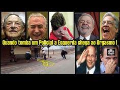 """"""" POLICIAL MILITAR TOMBA E A ESQUERDA DELIRA  """" """" POLÍCIA MILITAR """""""