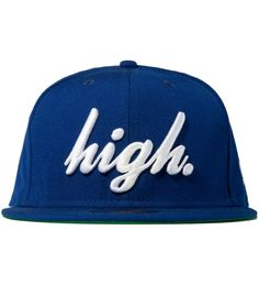 Odd Future High Hat Blue New Era Cap