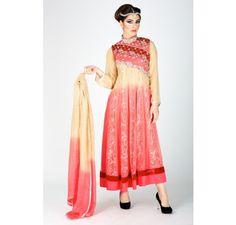 Pakistani Designer Dresses - Lowest Prices - Pakistani Designer Formal Stitched Pure Chiffon 3 Piece Suit £88 - Latest Pakistani Fashion www.iluvdesigner.com