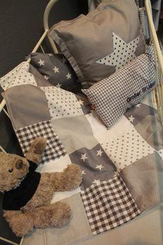 Baby-Decke ♥ Patchworkdecke ♥ Babysafe Decke von Himbeerhimmel-Shop   auf DaWanda.com